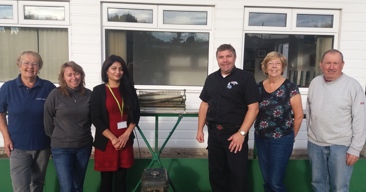 Club bowled over by generous donation from councillors