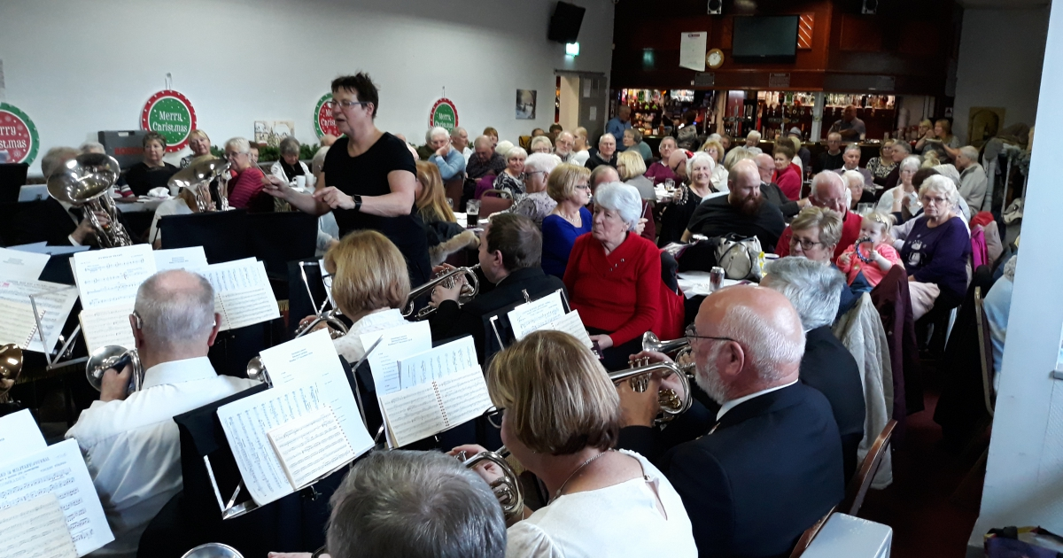 Photos from the Christmas Brass Band Concert - Monday 17th 0f December 2018 at 12 noon
